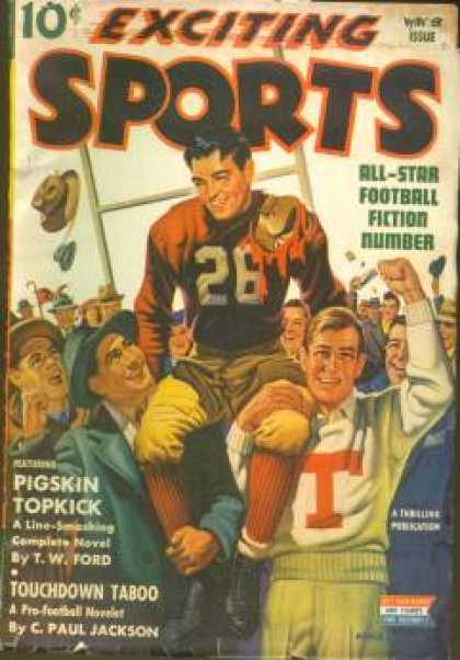 Exciting Sports - Winter 1943