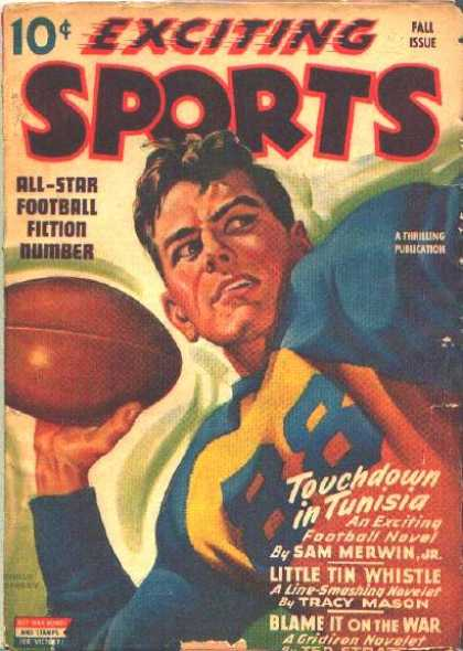 Exciting Sports - Fall 1943