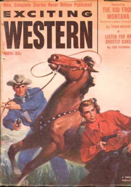 Exciting Western - 11/1952
