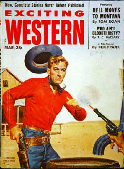 Exciting Western - 3/1953