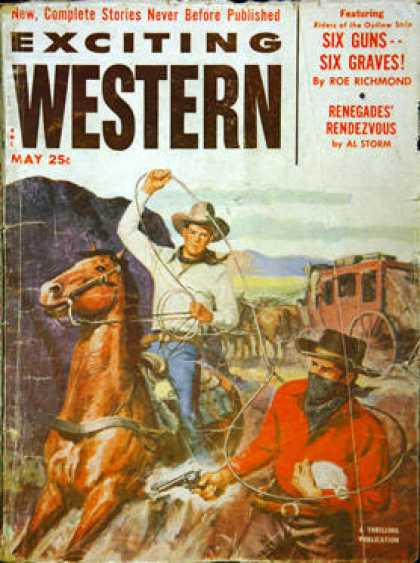 Exciting Western - 5/1953