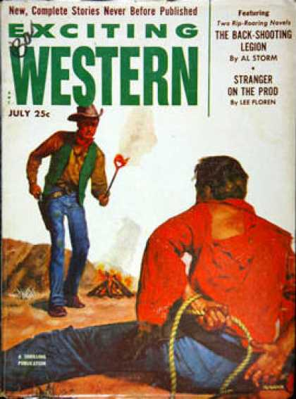 Exciting Western - 7/1953