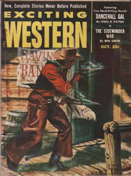 Exciting Western - 10/1953