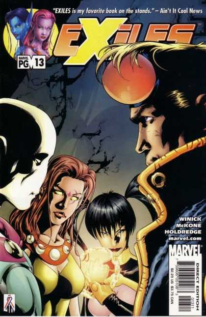 Exiles 13 - Marvel - Winick - Red Ball - Zombie - Golden Ball
