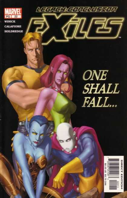 Exiles 22 - One Shall Fall - Winick - Man - Woman - Aliens - Mike McKone