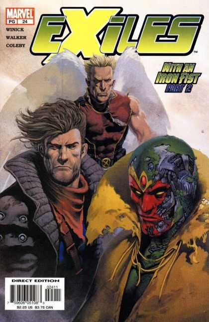 Exiles 24 - Marvel - Winick - Walker - Coleby - With An Iron Fist
