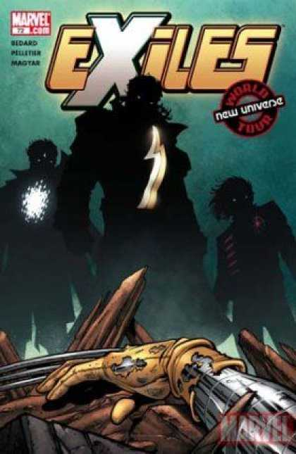 Exiles 72 - Marvelcom - New Universe - 72 - Magtar