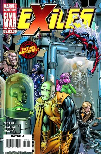 Exiles 79 - Marvel - Skeleton - Bedard - Magyar - Future Imperfect