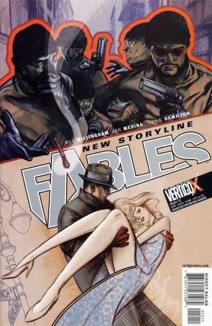 Fables 12 - Fables - Bad Guys - Guns - Hero - Damsel - James Jean