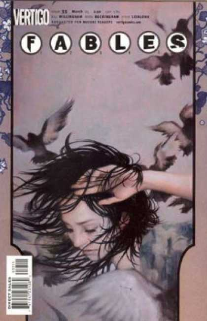 Fables 33 - Vertigo - Fables - Birds - Purple - Woman - James Jean