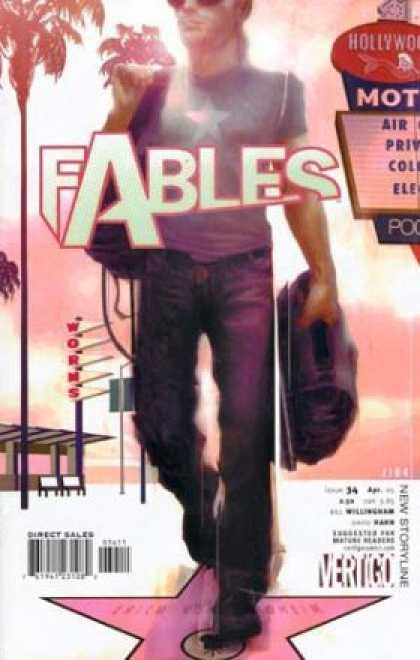 Fables 34 - Hollywood - Motel - Worms - Stars - Blue Jeans - James Jean
