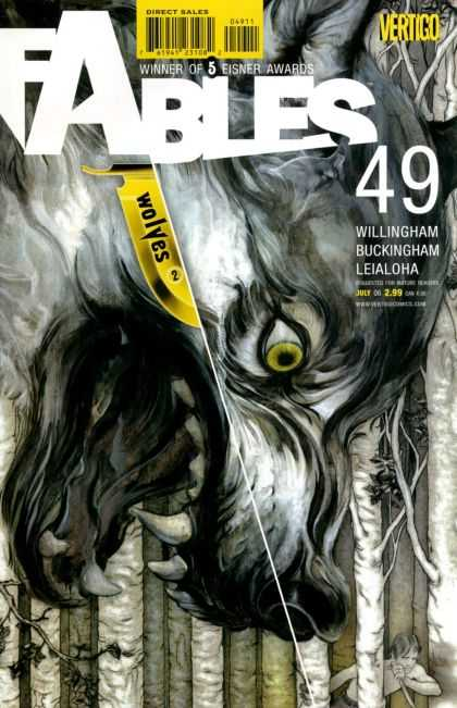 Fables 49 - Comics - Page - Reader - Magazine - Volume - James Jean