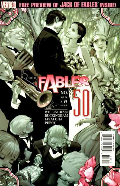 Fables 50 - 50 - Fables - Willingham - Flowfers - Preview - James Jean