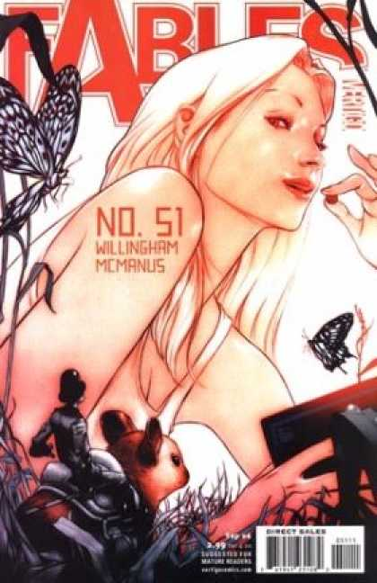 Fables 51 - Butterfly - Willingham Mcmanus - Knight - Cherry - Book - James Jean