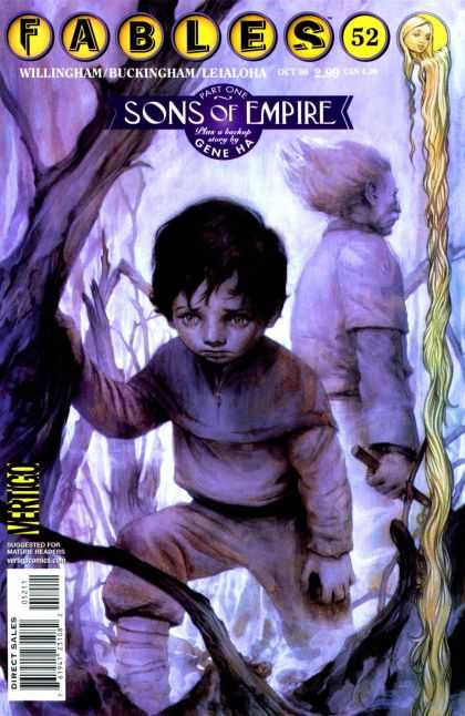 Fables 52 - Fables - Songs Of Empire - Gene Ha - Sad Boy - Girl With Very Long Hair - James Jean