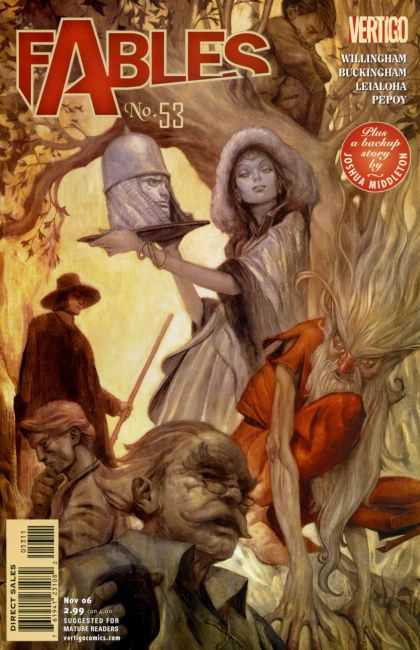 Fables 53 - Vertigo - No 53 - Willingham Buckingham Leialoha Pepoy - Nov 06 - James Jean