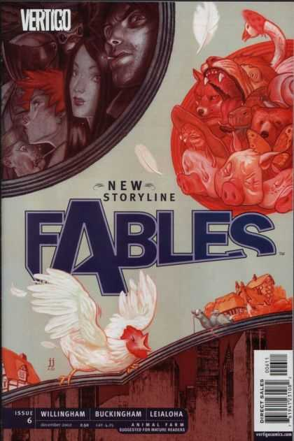 Fables 6 - Vertigo - Issue 6 - Willingham - Buckingham - Leialoha - James Jean