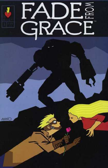 Fade From Grace 3 - Silhouette - Blonde - Rose - Man - Goggles