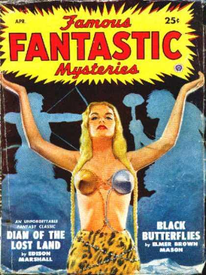 Famous Fantastic Mysteries - 4/1949
