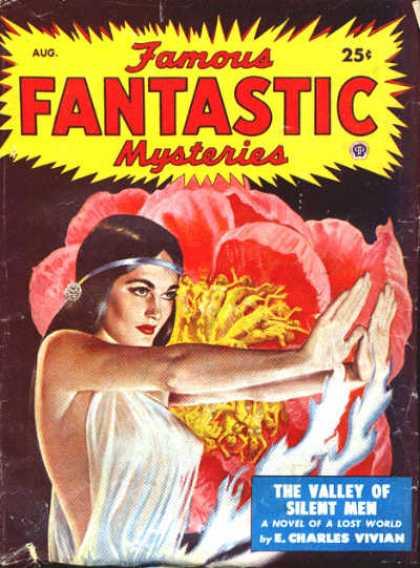 Famous Fantastic Mysteries - 8/1949