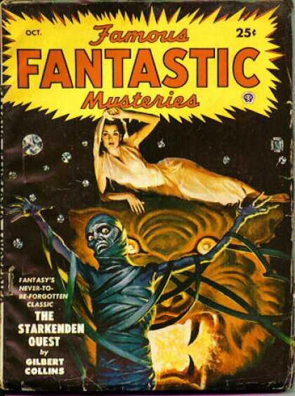 Famous Fantastic Mysteries - 10/1949