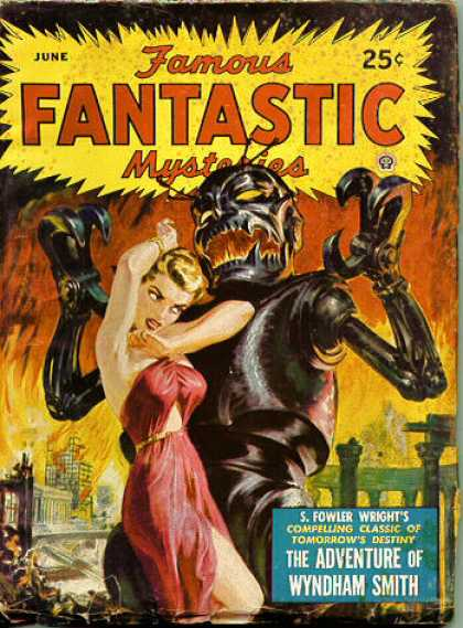 Famous Fantastic Mysteries - 6/1950