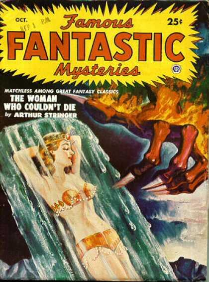 Famous Fantastic Mysteries - 10/1950