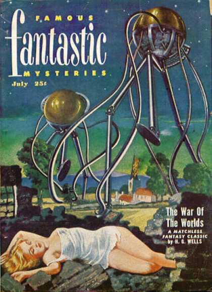 Famous Fantastic Mysteries - 7/1951