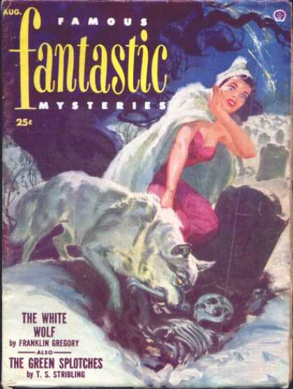 Famous Fantastic Mysteries - 8/1952