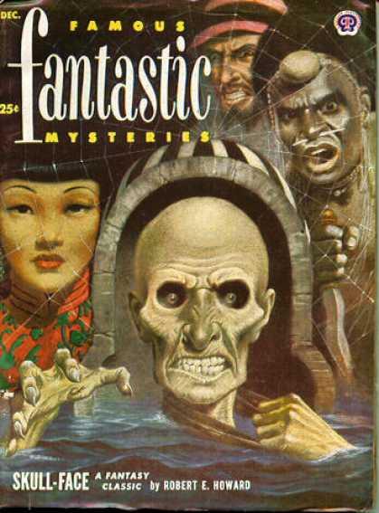 Famous Fantastic Mysteries - 12/1952