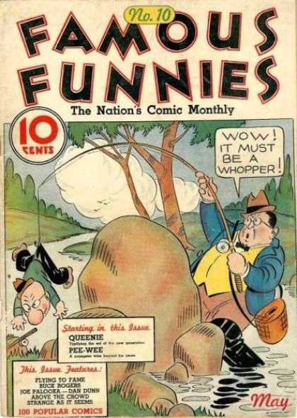 Famous Funnies 10