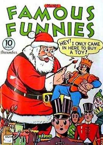 Famous Funnies 101 - Holiday - Santa - Toy Soldiers - Christmas - Funny