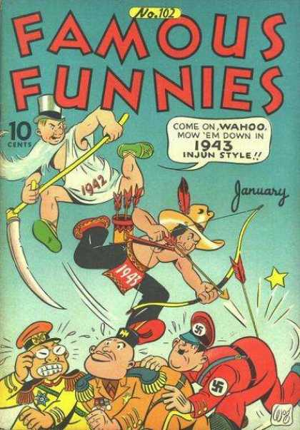 Famous Funnies 102