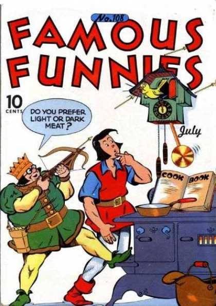 Famous Funnies 108