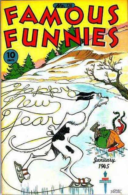 Famous Funnies 126