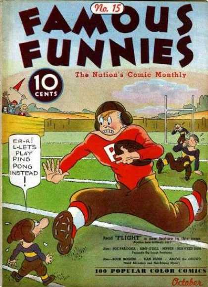 Famous Funnies 15 - Play - Ping - Pong - Get Away - Soccer