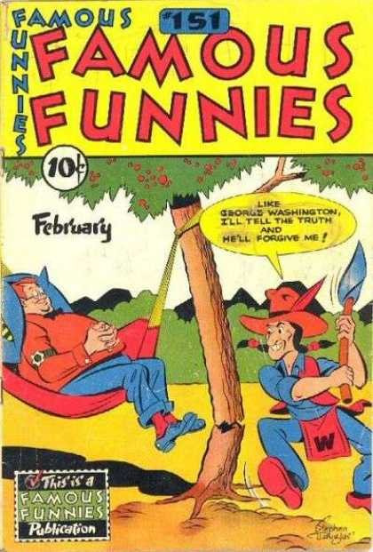Famous Funnies 151