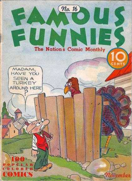 Famous Funnies 16