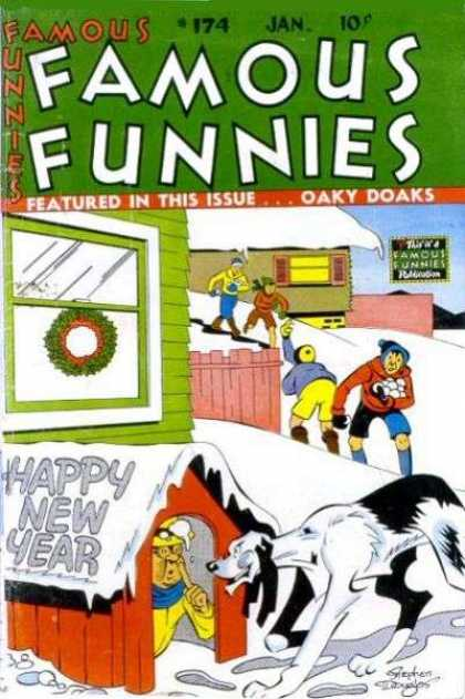 Famous Funnies 174