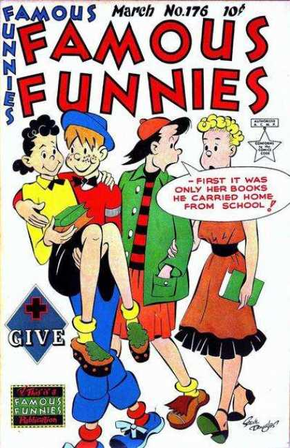 Famous Funnies 176