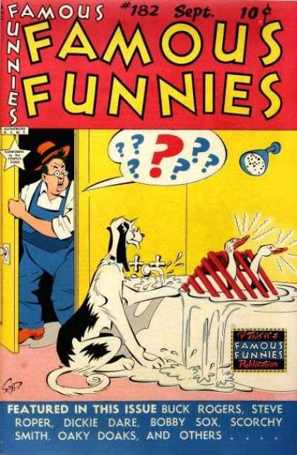 Famous Funnies 182