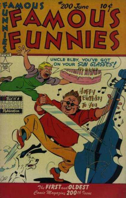 Famous Funnies 200