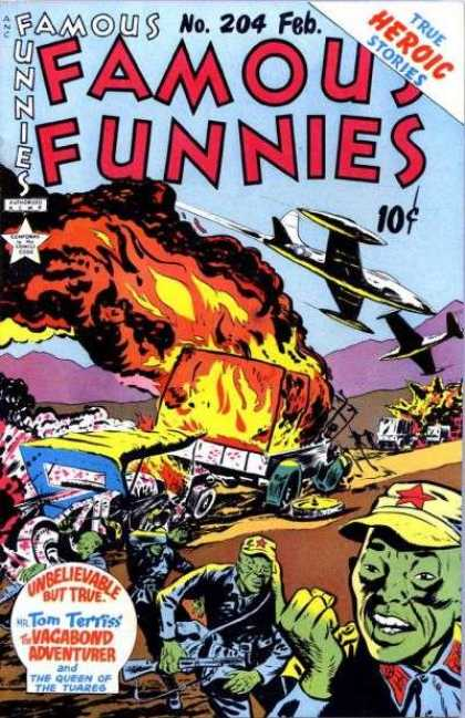 Famous Funnies 204 - Mike Roy