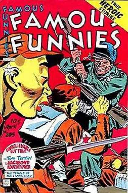 Famous Funnies 205 - Mike Roy