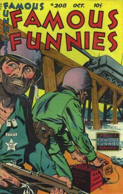 Famous Funnies 208 - Mike Roy