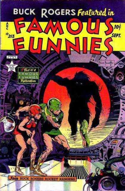 Famous Funnies 213 - Buck Rogers - Issue 213 - Rocket Rangers - Buck Rogers Rocket Rangers - Frank Frazetta