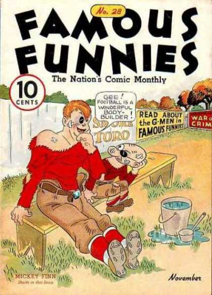 Famous Funnies 28