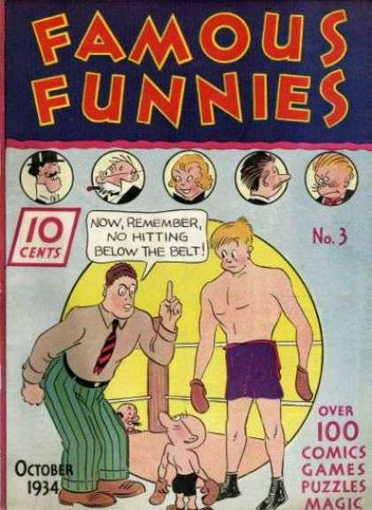 Famous Funnies 3 - Famous Funnies - 10c - Funnies - No3 - October 1934