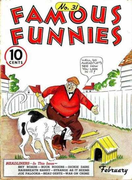 Famous Funnies 31