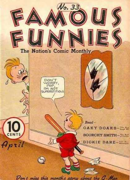 Famous Funnies 33